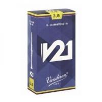 Vandoren Clarinet reeds Box of 10 V21 Bb n 3.5
