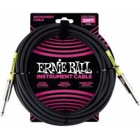 Ernie Ball 6.09m Jack - Jack Instrumentalni Kabl Crni